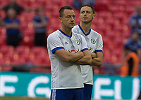Football - 2017 FA Cup Final - Arsenal vs. Chelsea<br /> <br /> John Terry of Chelsea looks miserable after his team lose in his final game for Chelsea at Wembley.<br /> <br /> COLORSPORT/DANIEL BEARHAM