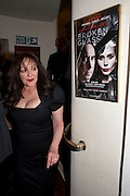 FRANCES BARBER, Press night for Ruby Wax- Losing it. Duchess theatre. London. 1 September 2011. <br /> <br />  , -DO NOT ARCHIVE-© Copyright Photograph by Dafydd Jones. 248 Clapham Rd. London SW9 0PZ. Tel 0207 820 0771. www.dafjones.com.