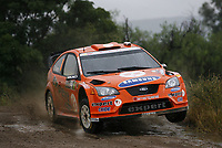 Motor <br /> WRC 2008<br /> Foto: DPPI/Digitalsport<br /> NORWAY ONLY<br /> <br /> MOTORSPORT - WRC 2008 - RALLY ARGENTINA - CORDOBA 27/03 TO 30/03/2008 <br /> <br /> HENNING SOLBERG (NOR) - CATO MENKERUD / FORD FOCUS RS WRC 07 STOBART M-SPORT - ACTION