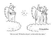 """""""Our vow said, 'Till death us do part', so that settles that, Agnes."""""""