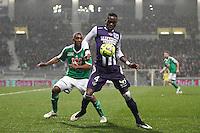Tongo Doumbia - 28.02.2015 - Toulouse / Saint Etienne - 27eme journee de Ligue 1 -<br />Photo : Manuel Blondeau / Icon Sport
