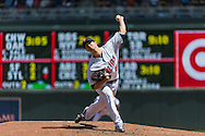 Scott Diamond #58 of the Minnesota Twins pitches against the Seattle Mariners on June 2, 2013 at Target Field in Minneapolis, Minnesota.  The Twins defeated the Mariners 10 to 0.  Photo: Ben Krause