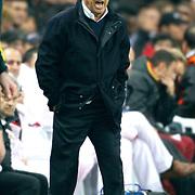 Galatasaray's coach Fatih Terim during their UEFA Champions League Quarter-finals, Second leg match Galatasaray between Real Madrid at the TT Arena AliSamiYen Spor Kompleksi in Istanbul, Turkey on Tuesday 09 April 2013. Photo by Aykut AKICI/TURKPIX