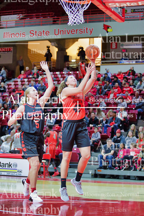 NORMAL, IL - October 12:  during Illinois State Athletics Hoopfest on October 12 2018 at Redbird Arena in Normal, IL. (Photo by Alan Look)