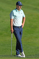 June 24, 2017 - Cromwell, Connecticut, U.S - Jordan Spieth on the 18th hole during the third round of the Travelers Championship at TPC River Highlands in Cromwell, Connecticut. (Credit Image: © Brian Ciancio via ZUMA Wire)
