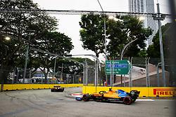 September 20, 2019, Singapore, Singapore: Motorsports: FIA Formula One World Championship 2019, Grand Prix of Singapore, .#55 Carlos Sainz jr. (ESP, McLaren F1 Team) (Credit Image: © Hoch Zwei via ZUMA Wire)