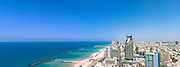 Aerial view of Tel Aviv, Israel