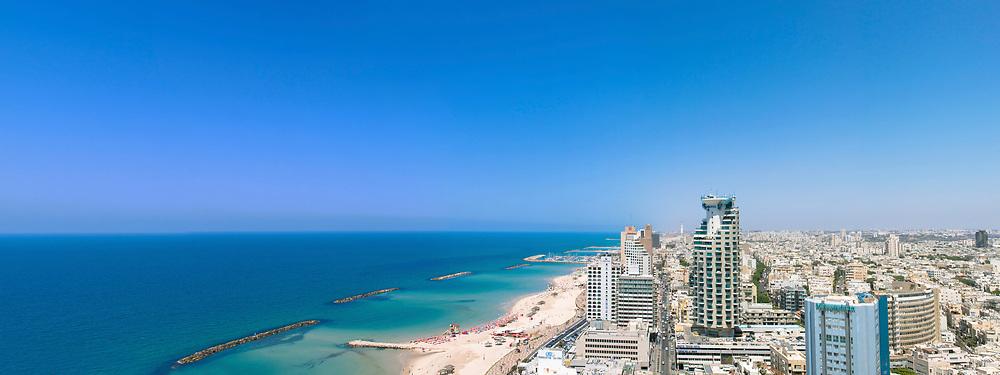 Aerial view of Tel Aviv, Israel