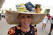 """Michelle """"Micki"""" Kirsh , a nice Jewish girls as she described herself from Richardson attended the Families Belong Together rally at the City of Dallas City Hall in downtown Dallas .""""I understand how this ends.  I don't I understand locking up children."""""""