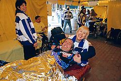 Post-Race Wheel Chair Massage 1994 Boston Marathon