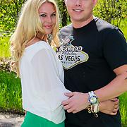 NLD/Hilversum/20130505 - Oh Oh Cherso Tony Wyczynski met zijn nieuwe partner Yildiz Siskens