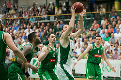 Sasa Zagorac of Krka during basketball match between KK Krka Novo mesto and  KK Petrol Olimpija in 4th Final game of Liga Nova KBM za prvaka 2017/18, on May 27, 2018 in Sports hall Leona Stuklja, Novo mesto, Slovenia. Photo by Vid Ponikvar / Sportida