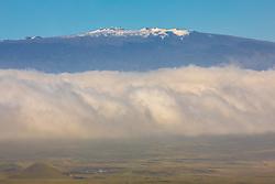 View Of Mauna Kea Along Hawi To Waimea Route