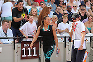 Jessica Ennis-Hill GBR walks off after the Long Jump during the Muller Anniversary Games at the Stadium, Queen Elizabeth Olympic Park, London, United Kingdom on 23 July 2016. Photo by Phil Duncan.