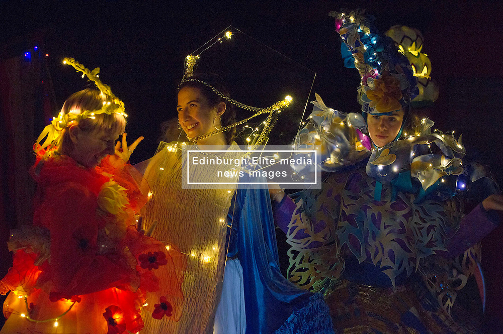 Outfits adorned with bells, lights and mirrors are among the designs by University of Edinburgh students which are to feature at events marking the Indian festival of Diwali this weekend<br /> (c) Ger Harley   Edinburgh Elite media