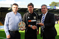 Bristol Rovers Manager, Darrell Clarke, Vanarama Conference Manager of the Month - Photo mandatory by-line: Neil Brookman - Mobile: 07966 386802 - 04/10/2014 - SPORT - Football - Bristol - Memorial Stadium - Bristol Rovers v Dover - Vanarama Football Conference