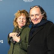 NLD/Amsterdam/20191028 - Koninklijk bezoek Premiere Galapagos, Jean van de Velde en partner