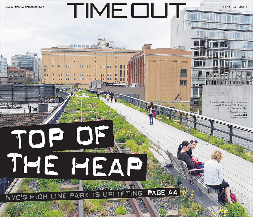 Photo Illustration for Time Out Cover
