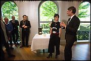 HELENA RIZZO; AYMERIC SANCERRE, Veuve Clicquot World's Best Female chef champagne tea party. Halkin Hotel. Halkin St. London SW1. 28 April 2014.