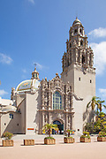 San Diego Museum of Man and the California Bell Tower
