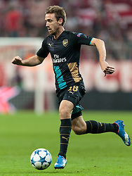 04.11.2015, Allianz Arena, Muenchen, GER, UEFA CL, FC Bayern Muenchen vs FC Arsenal, Gruppe F, im Bild Nacho Monreal (FC Arsenal) // during the UEFA Champions League group F match between FC Bayern Munich and FC Arsenal at the Allianz Arena in Munich, Germany on 2015/11/04. EXPA Pictures © 2015, PhotoCredit: EXPA/ JFK