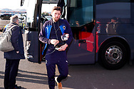 Wimbledon midfielder Anthony Wordsworth (40)  arrives during the EFL Sky Bet League 1 match between Doncaster Rovers and AFC Wimbledon at the Keepmoat Stadium, Doncaster, England on 17 November 2018.