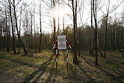 Chernobyl Exclusion Zone, Belarus. Ecological reserve,Evacuated region designated as high risk for contamination of nuclear radiation. Homes are left derelict. The region has  become a natural wildlife reserve. It is controled by rangers, otherwise it is uninhabited. One of biggest dangers is a forest fire which could move large quantities of radioactivity by airborn means to areas otherwise unaffected.