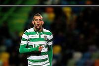 Islam Slimani - 29.11.2014 - Sporting / Vitoria Setubal - Liga Sagres<br /> Photo : Carlos Rodrigues / Icon Sport