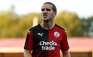 A frustrated Luke Rooney during the Pre-Season Friendly match between Crawley Town and Brighton and Hove Albion at the Checkatrade.com Stadium, Crawley, England on 22 July 2015. Photo by Michael Hulf.