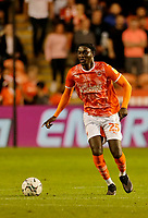 Football - 2021 / 2022 EFL Carabao Cup - Round Two - Blackpool vs. Sunderland -Bloomfield Road - Tuesday 24th August 2021<br /> <br /> Cameron Antwi of Blackpool, at Bloomfield Road.<br /> <br /> COLORSPORT/Alan Martin