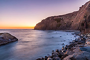 Sunset in Dana Point at the Bluffs
