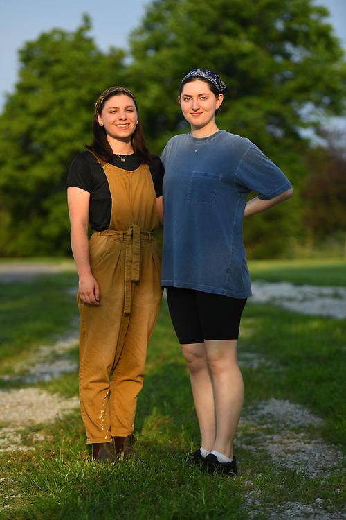 7/6/20 6:53:03 AM  -- Shai Bardin and Carolyn Rogers --    Photo by Jack Gruber