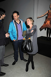 TOM DIXON and LIBBY SELLERS at a retrospective exhibition of Hussein Chalayan's designs sponsored by Puma at The Design Museum, London SE1 on 21st January 2009.