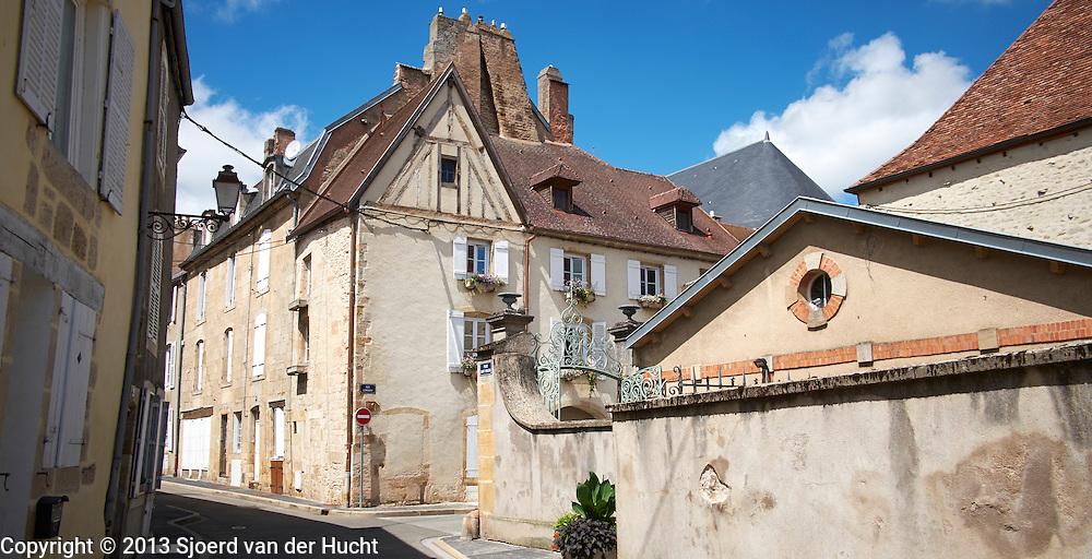 Straat in Langres, Frankrijk - Langres  street, France
