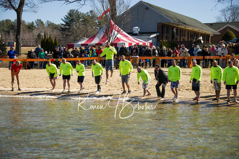 Winni Dip for Special Olympics at the Margate Resort.  Karen Bobotas for the Laconia Daily Sun