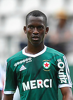 Tiecoro Keita of Red Star during the French Ligue 2 match between Red Star and Auxerre at Stade Jean Bouin on July 30, 2016 in Paris, France. ( Photo by Andre Ferreira / Icon Sport )
