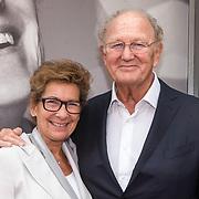 NLD/Amsterdamt/20180930 - Annie MG Schmidt viert eerste jubileum, Joop van den Ende en partner Janine