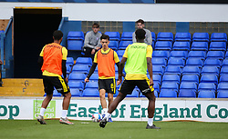 Zain Westbrooke of Bristol Rovers during the warm up - Mandatory by-line: Arron Gent/JMP - 05/09/2020 - FOOTBALL - Portman Road - Ipswich, England - Ipswich Town v Bristol Rovers - Carabao Cup