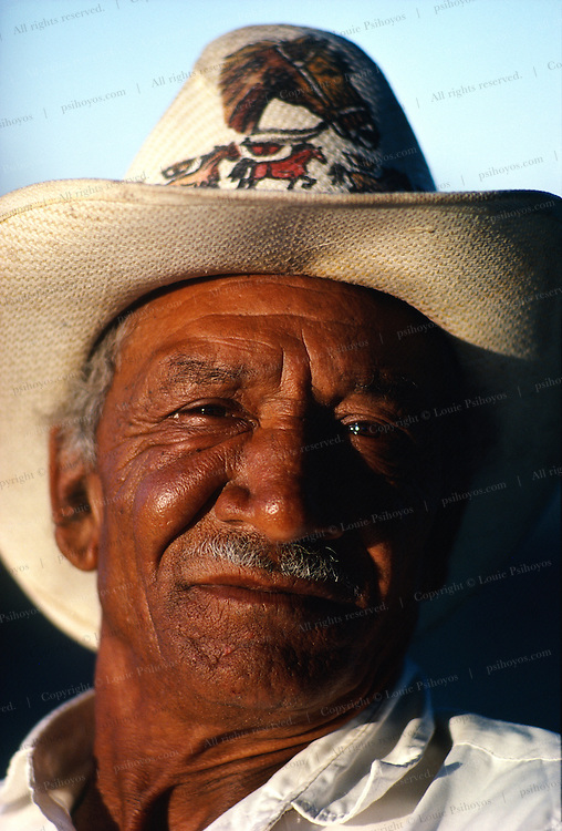 Some black Seminole indians moved to Mexico in 1849-50 after learning that Indian Territory was not off limits to slave raiders.  Dan Factor, a black Seminole ranches near Nacimiento, Mexico.