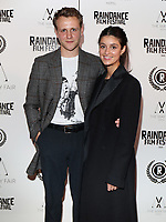 """Josh Dylan and Anya Charotra  at the UK Premiere of """"Stardust"""", the Opening Film of the Raindance Film Festival,The May Fair Hotel ,London photo by Roger Alarcon"""