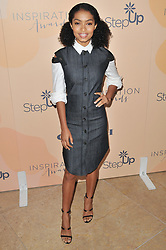 Yara Shahidi arrives at Step Up's 14th Annual Inspiration Awards held athe Beverly Hilton in Beverly Hills, CA on Friday, June 2, 2017. (Photo By Sthanlee B. Mirador) *** Please Use Credit from Credit Field ***