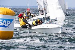 , Kiel - SAP 505er World Championship 2014, 505er, SUI 8954, Caroline JACOT, Philippe JACOT, Club Nautique de Bevaix