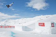 Team GB and Olympic freestyle snowboarder Jamie Nicholls during The British Snowboard and Freeski Championships on the 5th April 2019 in Laax ski resort in Switzerland.