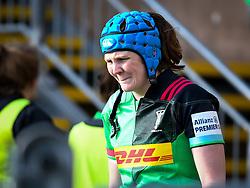 Fi Fletcher of Harlequins - Mandatory by-line: Andy Watts/JMP - 06/02/2021 - Sandy Park - Exeter, England - Exeter Chiefs Women v Harlequins Women - Allianz Premier 15s