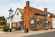 The Bell Inn village pub, Botesdale, Suffolk, England, UK