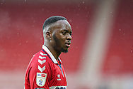 Portrait of Middlesbrough midfielder Neeskens Kebano (21)  during the EFL Sky Bet Championship match between Middlesbrough and Brentford at the Riverside Stadium, Middlesbrough, England on 6 February 2021.
