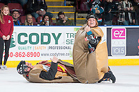 KELOWNA, CANADA - FEBRUARY 2: Subway POP on February 2, 2016 at Prospera Place in Kelowna, British Columbia, Canada.  (Photo by Marissa Baecker/Shoot the Breeze)  *** Local Caption *** POP