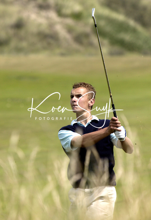 NOORDWIJK - Joost Luiten. Stern Open (Nationaal Open) op de Noordwijkse GC . COPYRIGHT  KOEN SUYK