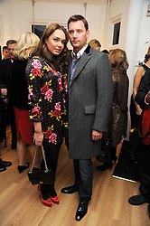 TAMARA ECCLESTONE and ROBERT MONTAGUE at a private view of 'Most Wanted' an exhibition of photographs held at The Little Black Gallery, Park Walk, London on 27th November 2008.