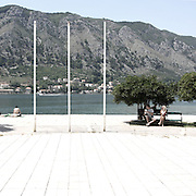 "An old monument in Kotor.There are several arguments about the derivation of the name  ""Montenegro"", one of these relates to dark and deep forests  that once covered the Dinaric Alps, as it was possible to see them from the sea. <br />